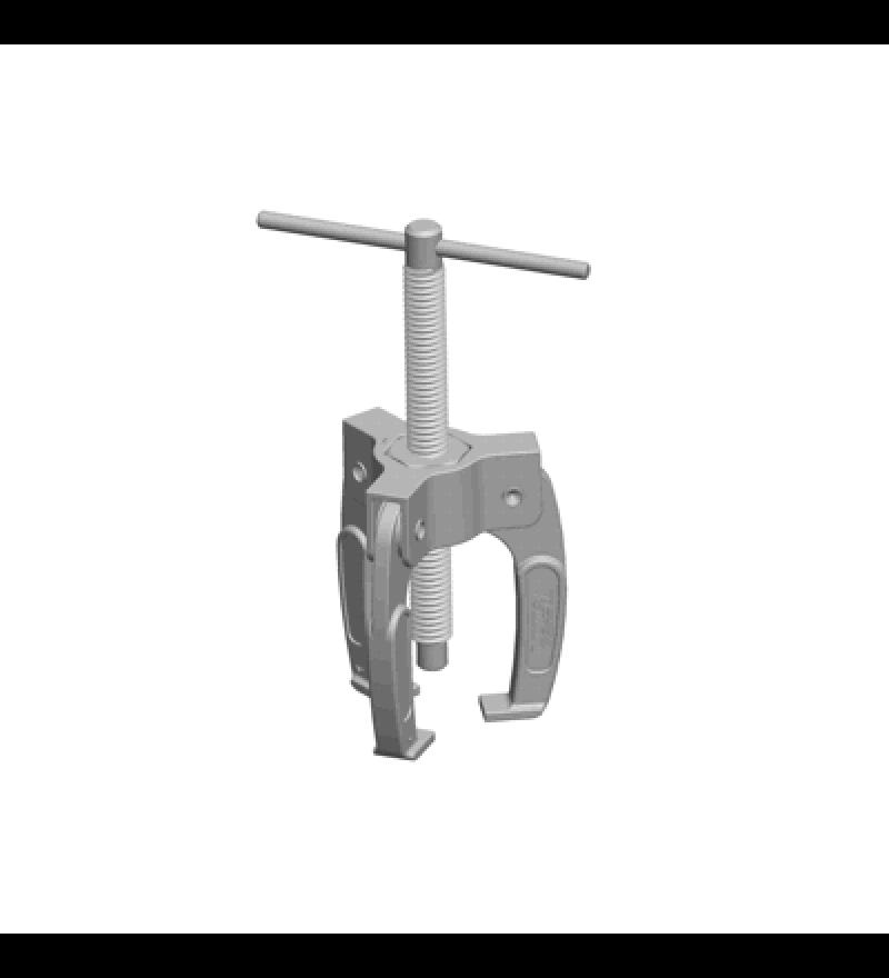 Mini-extrator com 03 garras para bornes de bateria e rolamentos de alternador com diâmetro até 40 mm.RAVEN 108005