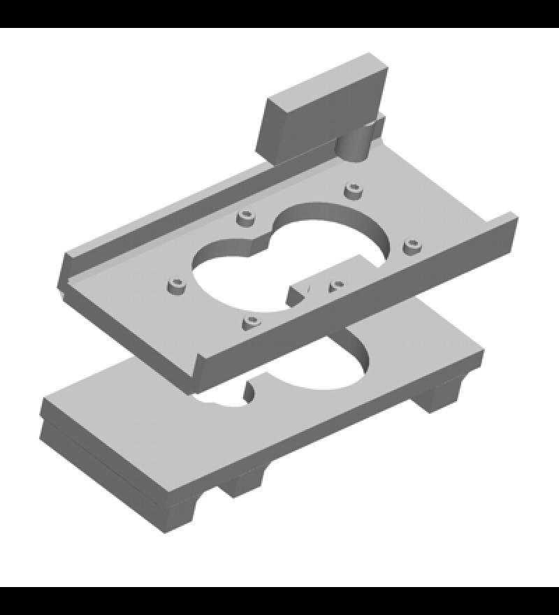 Ferramenta para extração em prensa do rolamento da caixa de transmissão. RAVEN 112003