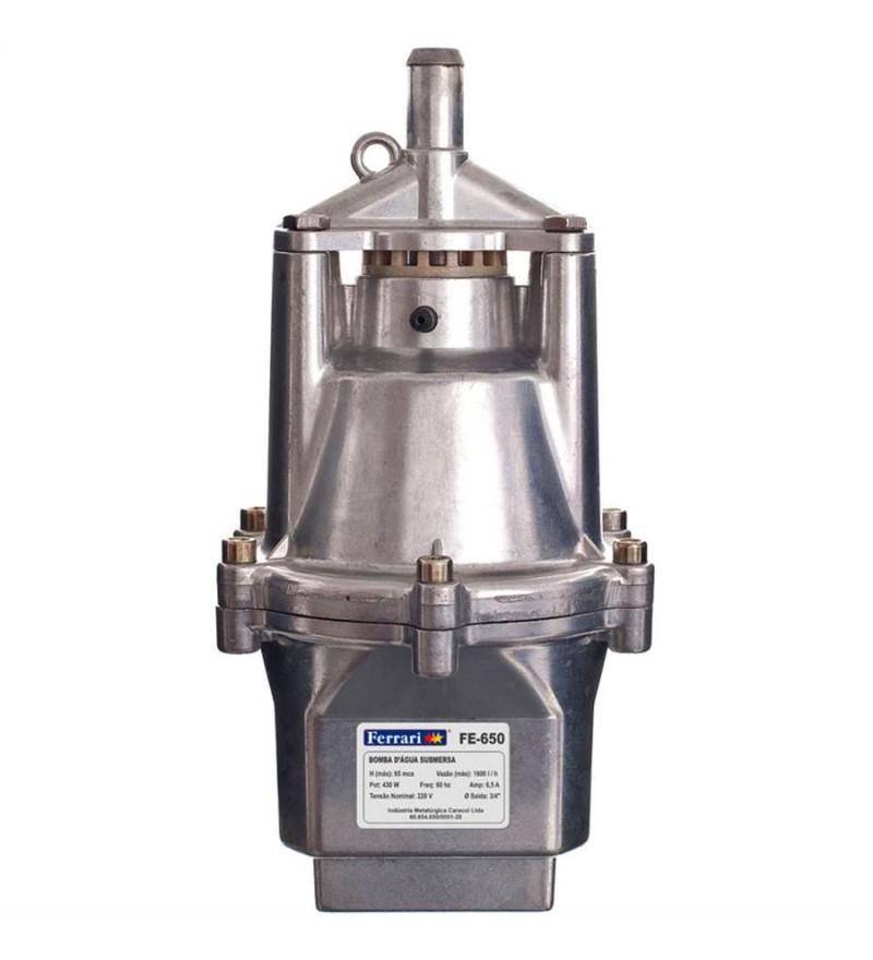 Bomba D'água Submersa Vibratória220v- FERRARI FE-650
