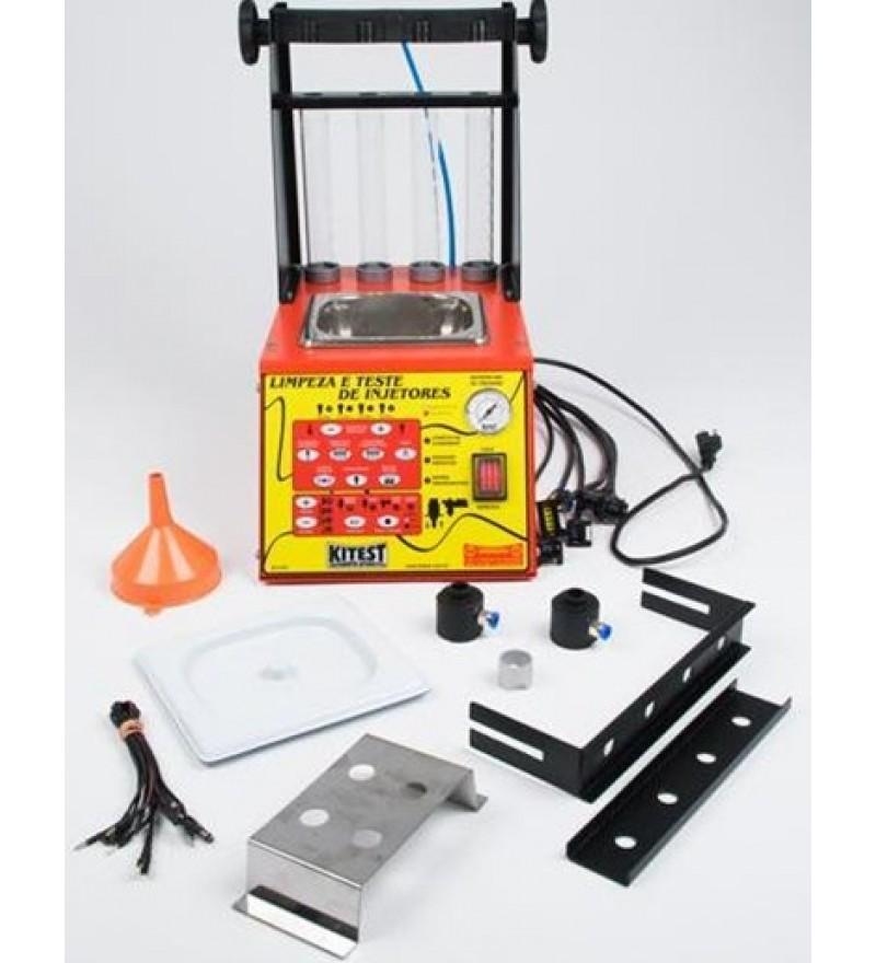 Máquina de limpeza e teste de injetores. KITEST KA-038