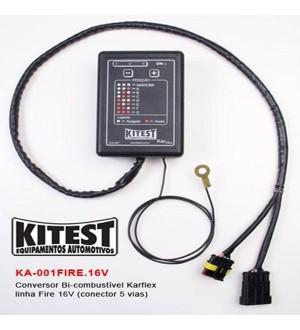 Conversor de combustível karflex linha FIRE 16V (conector 5 vias)