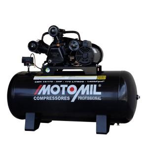 Compressor 15 pés 175 litros 140 Lbs - CMW15/175 MOTOMIL